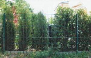Doppelstabmattenzaun - für Großflächen geeignet