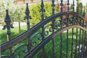 Schmiedezaun - für individuelle Gartengestaltung