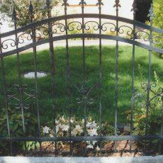 Warum eben ein Gartenzaun aus Metall?